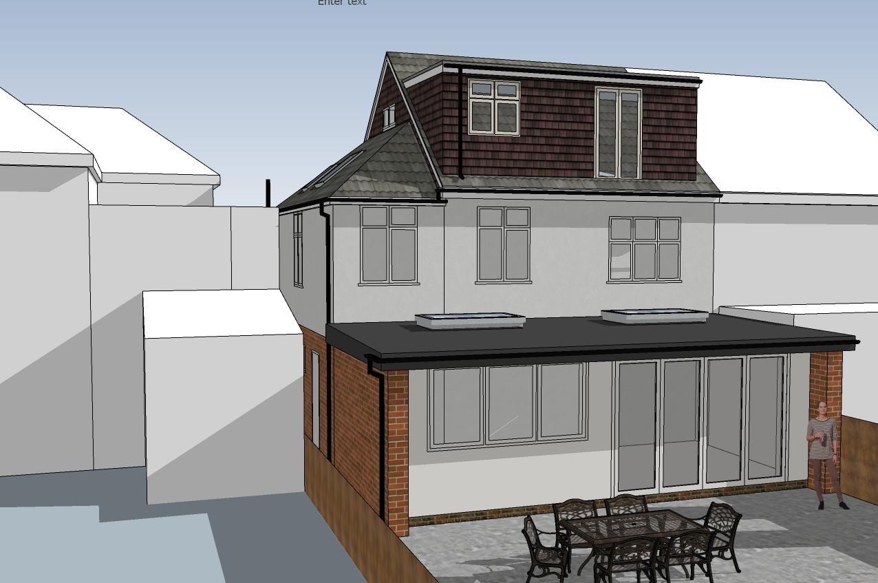 Surbiton side & rear extension